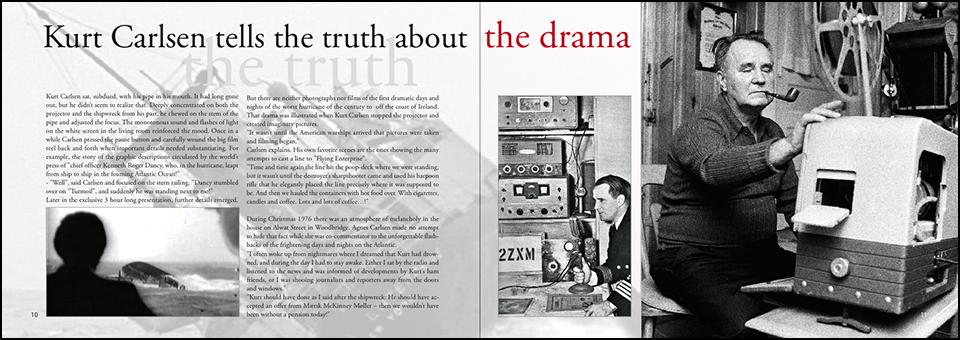 Kurt Carlsen tells the truth about the drama