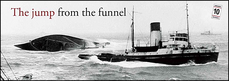 """What do you fear most,"" captain Carlsen? – ""Going ashore!"